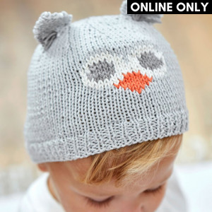 Owl Hat Pattern in DMC® 100% Baby Cotton