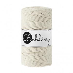 Bobbiny® Premium Macramé Rope, Natural, 3 mm.