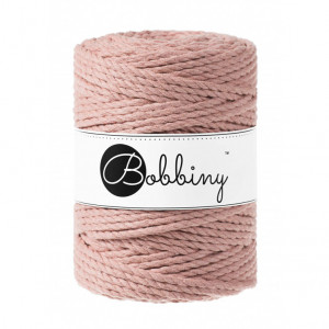 Bobbiny® Premium Macramé Rope, Blush, 5 mm.