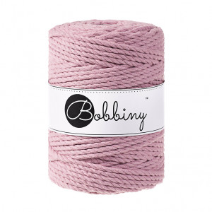 Bobbiny® Premium Macramé Rope, Dusty Pink, 5 mm.