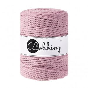 (PREORDER) Bobbiny Premium Macramé Rope, Dusty Pink, 5 mm.