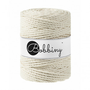 Bobbiny® Premium Macramé Rope, Natural, 5 mm.