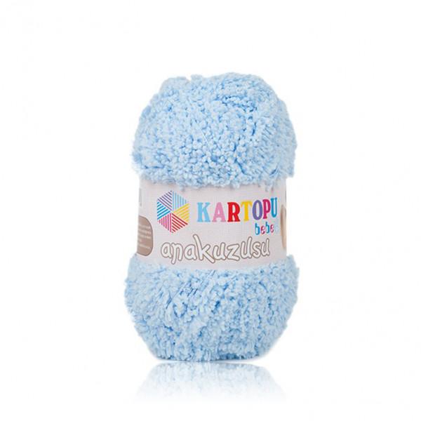 Kartopu® Anakuzusu Baby Yarn - Light Blue (K505)