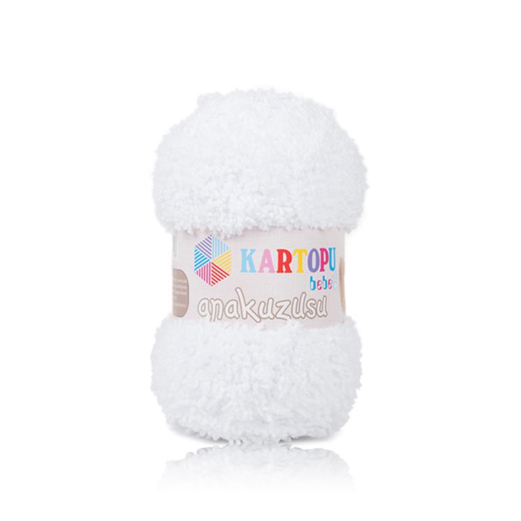KARTOPU AMiGURUMi İPİ K010 White | Kartopu Amigurumi | Aşkın Yün Ve... | 746x746