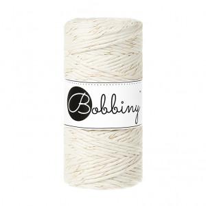 (PREORDER) Bobbiny Premium Macramé String, Golden Natural, 3 mm.