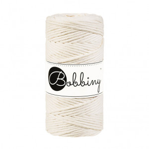 Bobbiny® Premium Macramé String, Natural, 3 mm.