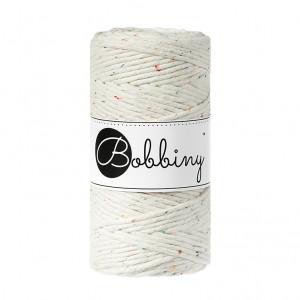(PREORDER) Bobbiny Premium Macramé String, Rainbow Dust, 3 mm.