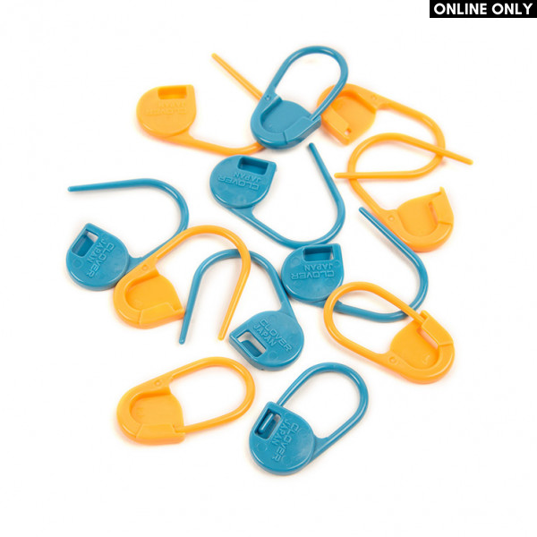 Clover® Jumbo Locking Stitch Markers