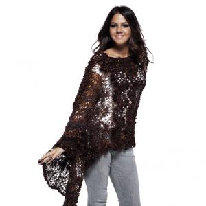 Feza Alp Premier Pattern - Dazzling Shawl Wrap with Sleeves