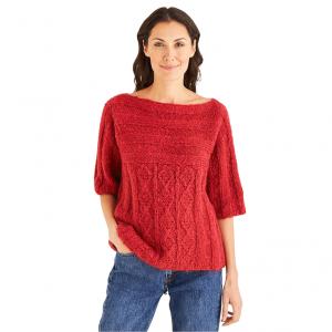 DMC Ankara Pattern - Short Sleeve Sweater