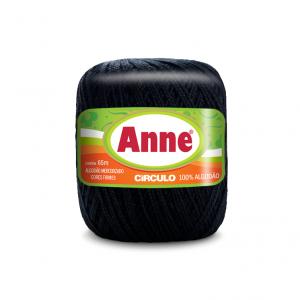 Circulo Anne Mini Yarn - Preto (8990)