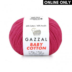 Gazzal Baby Cotton Yarn (3415)