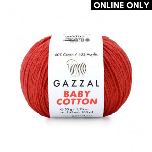 Gazzal Baby Cotton Yarn (3418)