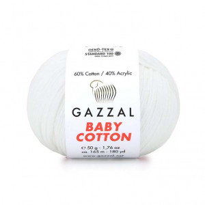 Gazzal Baby Cotton Yarn (3432)