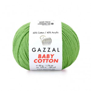 Gazzal Baby Cotton Yarn (3448)