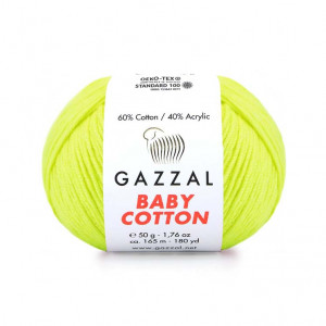 Gazzal Baby Cotton Yarn (3462)