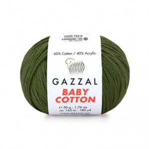 Gazzal Baby Cotton Yarn (3463)