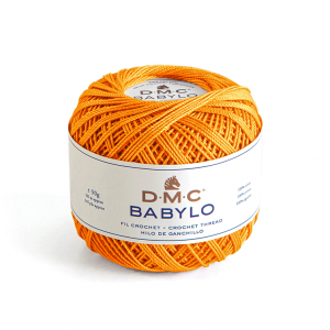 DMC Babylo No. 5 Crochet Thread (741)