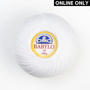 DMC Babylo No. 10 Crochet Thread (B5200)