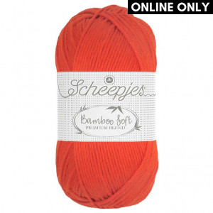 Scheepjes Bamboo Soft Yarn - Regal Orange (261)