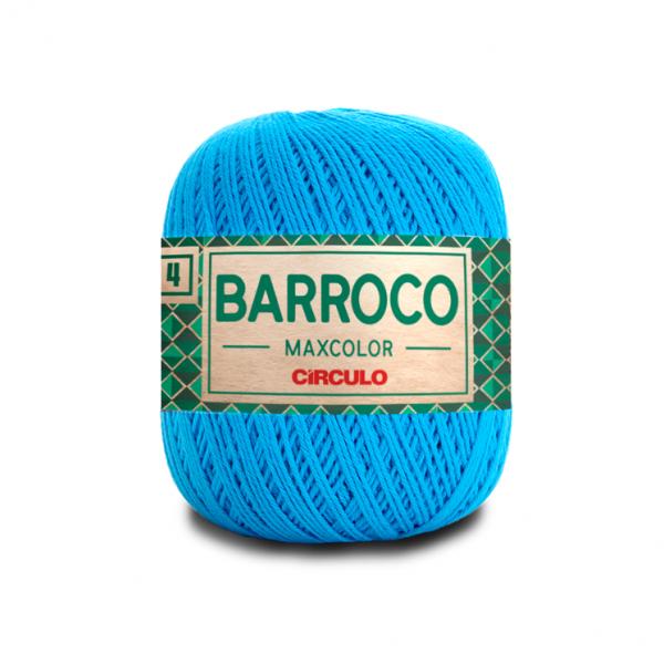 Circulo Barroco Maxcolor 4/4 Yarn - Turquesa (2194)