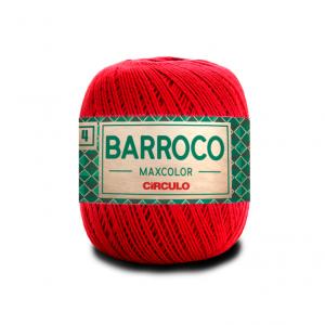 Circulo Barroco Maxcolor 4/4 Yarn - Vermelho (3402)