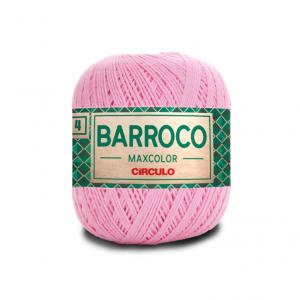 Circulo Barroco Maxcolor 4/4 Yarn - Rosa Candy (3526)