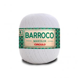 Circulo Barroco Maxcolor 4/4 Yarn - Branco (8001)