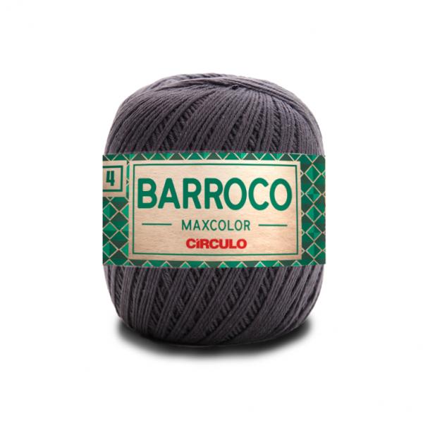 Circulo Barroco Maxcolor 4/4 Yarn - Cinza Onix (8323)