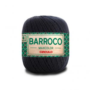 Circulo Barroco Maxcolor 4/4 Yarn - Preto (8990)