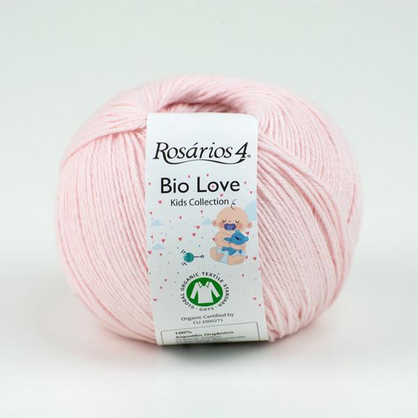 Rosarios 4® Bio Love 100% Organic Cotton Yarn - Pink (05)