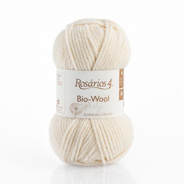 Rosarios 4 Bio-Wool Yarn - Raw White (01)
