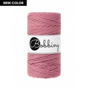 Bobbiny Premium Macramé Rope, Blossom, 3 mm.
