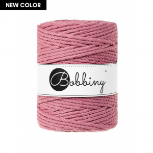 Bobbiny Premium Macramé Rope, Blossom, 5 mm.