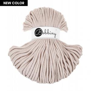 Bobbiny Premium Macramé Cord Yarn, Nude, 5 mm.