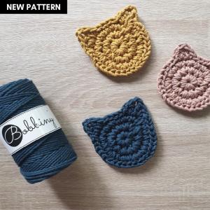 Kitty Coaster Crochet Pattern