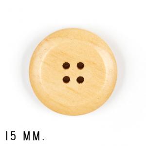 Handmayk Buttons, 15 mm., Pack of 6