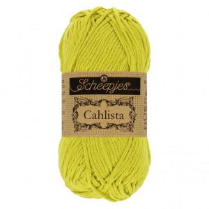 Scheepjes Cahlista Yarn - Green Yellow (245)