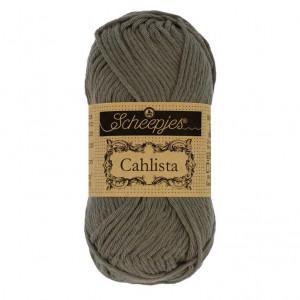 Scheepjes Cahlista Yarn - Dark Olive (387)