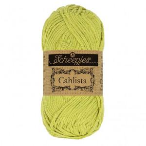 Scheepjes Cahlista Yarn - Lime (512)