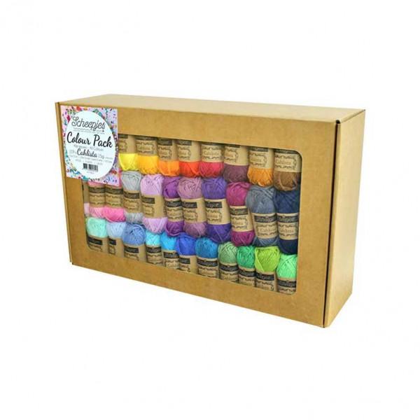 Scheepjes® Cahlista 100% Cotton Yarn - 109 Skein (15 gr.) Color Pack
