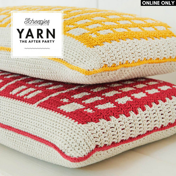 Canal Houses Cushion Pattern in Scheepjes® Catona