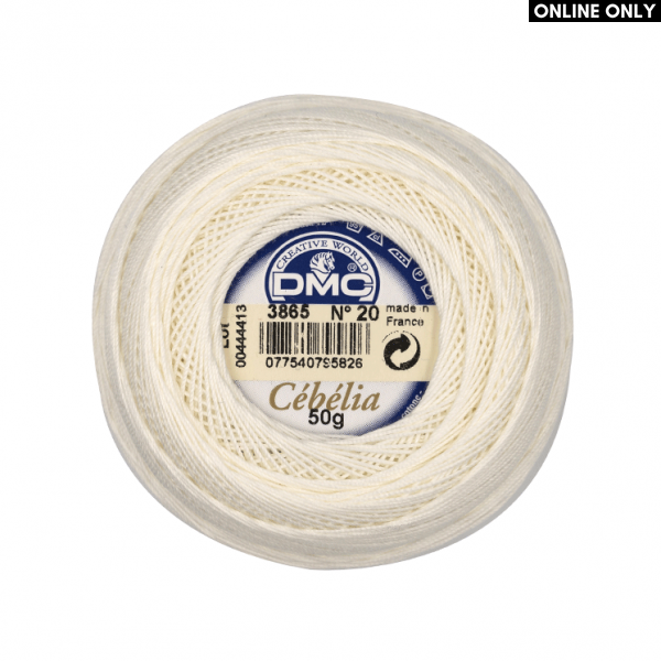 DMC Cebelia No. 20 Crochet Thread (3865)