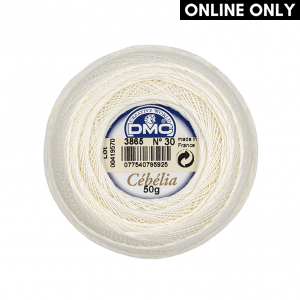 DMC Cebelia No. 30 Crochet Thread (3865)