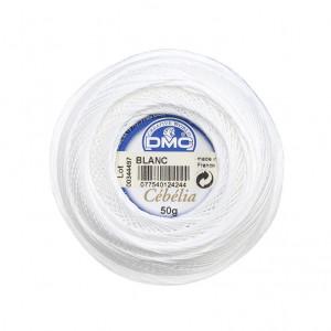 DMC Cebelia No. 20 Crochet Thread (Blanc)