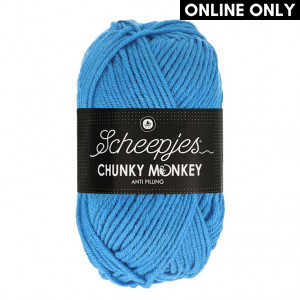 Scheepjes® Chunky Monkey Anti Pilling Yarn - Cornflower Blue (1003)