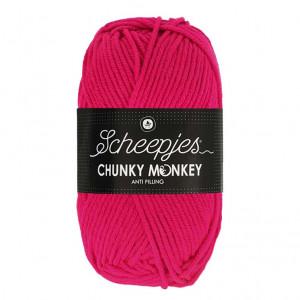Scheepjes® Chunky Monkey Anti Pilling Yarn - Magenta (1435)
