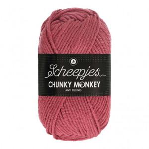 Scheepjes® Chunky Monkey Anti Pilling Yarn - Salmon (1023)