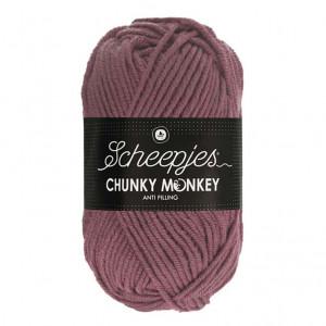 Scheepjes® Chunky Monkey Anti Pilling Yarn - Rosewood (1067)
