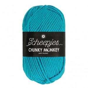 Scheepjes® Chunky Monkey Anti Pilling Yarn - Turquoise (1068)